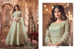 Designer Wedding Wear Heavy Embroidery Suit