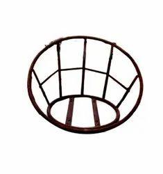 Brown Modern Iron Chair Frame