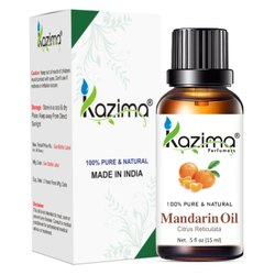 KAZIMA 100% Pure Natural & Undiluted Mandarin Oil