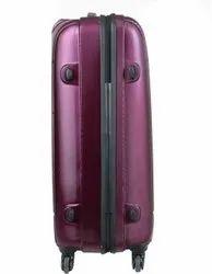 Purple Polycarbonate 65 cm Safari Check-in Luggage Trolley Bag