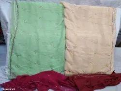 Fancy Casual Wear Chiffon Saree