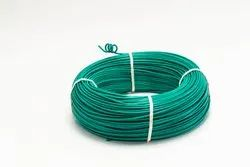 Dec Industries Flame Retardant PVC Insulated Green Industrial Cables, Packaging Type: Roll