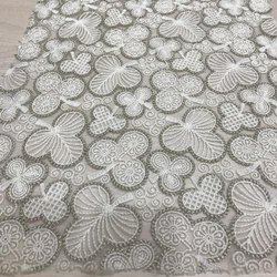 Chikan Embroidery Fabric