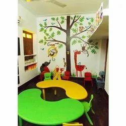 10 Days Play School Interior Designing Service