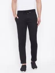 Harbor N Bay Men Black Solid Slim Fit Track Pants