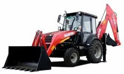 Manitou Backhoe Loader