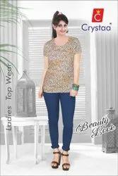 Cotton Shirts & Tops Women Cloth Top, Size: S-XL