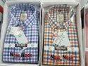 Cotton Men Check Shirts