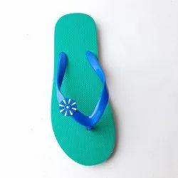 Rubber Plain EVA Ladies Slipper, Size: 6