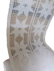 Polyester White Cap Fabric