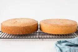 Round Carrot Walnut Cake