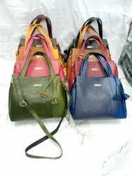 Ladies Leather Tote Handbag