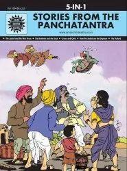 Panchatantra的故事:5 In 1 (Amar Chitra Katha)精装(免费全球航运)