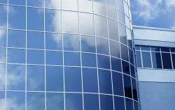 Transparent Plain Reflective Window Glass, Thickness: 2 Mm