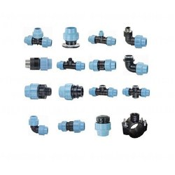 COMPRESSION FITTING FOR HDPE PIPES