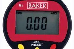 0.01 mm Baker Digital Plunger Dial Gauge