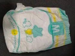 Loose Baby Diaper Velcro Size M