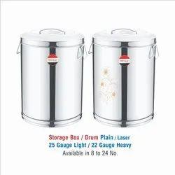 Stainless Steel Storage Box-PLAIN