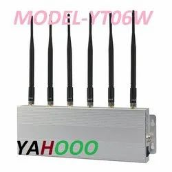 Yahoo 60 Hz Mobile Phone Signal Jammer YT206W, Model Name/Number: YT06W