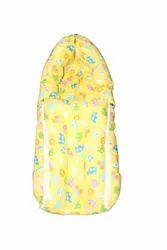 Cotton Yellow Printed Baby Sleeping Bag, 5 Months