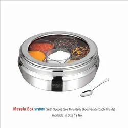 Stainless steel Masala Box-Vision