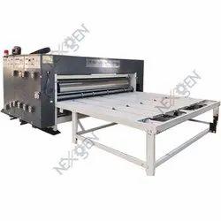 Chain Feed Two Colour Flexo Printer And Slotter Machine