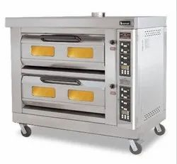 Double Deck Oven With Steam Digital