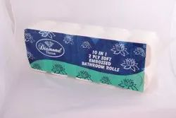 10 in 1, Toilet Roll 34 Gsm 2 ply