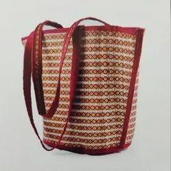 Handicraft Sabai Sea Kauna Grass V-Tote Bag