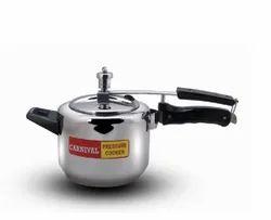 Silver Stainless Steel 2 L Regular Carnival Pressure Cooker, For Home