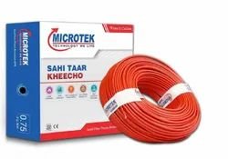 Microtek PVC Wires, Wire Size: 1 Sq Mm