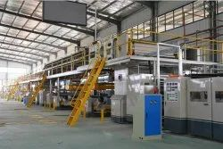1800mm 5 Ply Automatic Corrugated Board Making Line