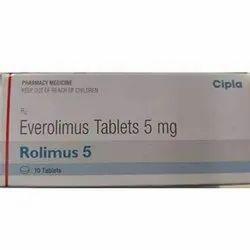 Rolimus 5mg Everolimus Tablets