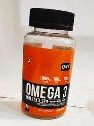 QNT Omega-3 60 Gel Capsules, Treatment: Essential Fatty Acids