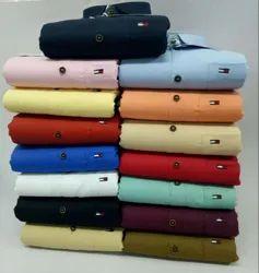 Slim Fit Cotton Men Designer Clothing - shirts