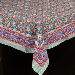 Handmade Hand Block Tablecloth