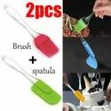 OIL BRUSH WITH SPATULA BIG SIZE