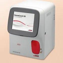 Human Huma Count 5D Hematology Analyzers, For Laboratory