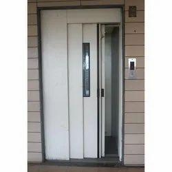 Mild Steel Closet Doors Telescopic Manual Door, For Office, Exterior