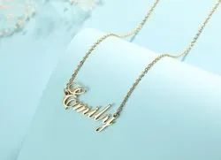 Customized Name Necklace Manufacturing In India