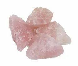 Natural Pink Rose Quartz Rock Stones, For Decoration, 500g