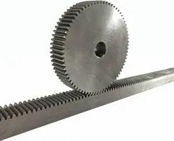 Gear Rack With Gear Pinion