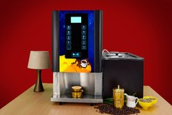 Live Coffee Vending Machine For Rent