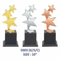 Metal 3 Stars Trophy