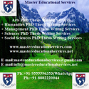 Agriculture, Policy And Development PhD Thesis Writing Services Consultancy