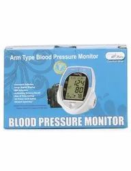 Comfort Blue Arm Type Blood Pressure Monitor, For Hospital