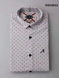 Roman Island Twill Designer Shirt, Size: M