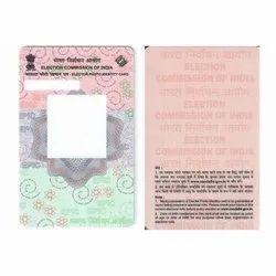 Pre Printer Voter ID Cards