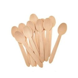 Disposable Birch Wooden Spoon