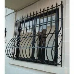 Paint Coated Mild Steel Commercial MS Window Grill